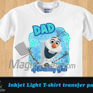 Inkjet Dark T-shirt transfer paper - A4 - Magic Transfer