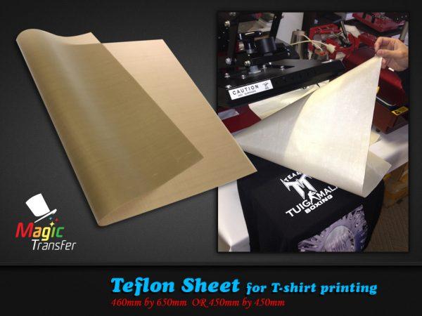 Heat Press Teflon Sheet Magic Transfer